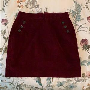 Banana Republic Corduroy Skirt